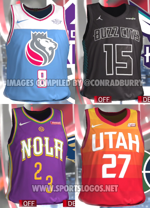 Everybody s except Toronto Miami. Why the hell did Nike got to ruin the  Pelicans one with offset numbers  5bb1786db