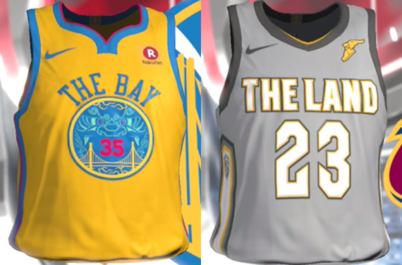 Video Game Leaks Nearly Full Set of NBA City Edition Alternate Jerseys 2359ba2e6