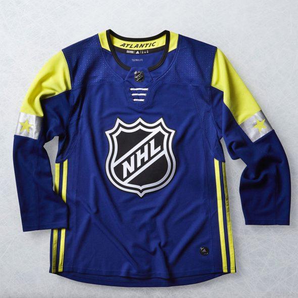 sports shoes 68f56 6abdf 2018 NHL All-Star Game Uniforms Unveiled | Chris Creamer's ...