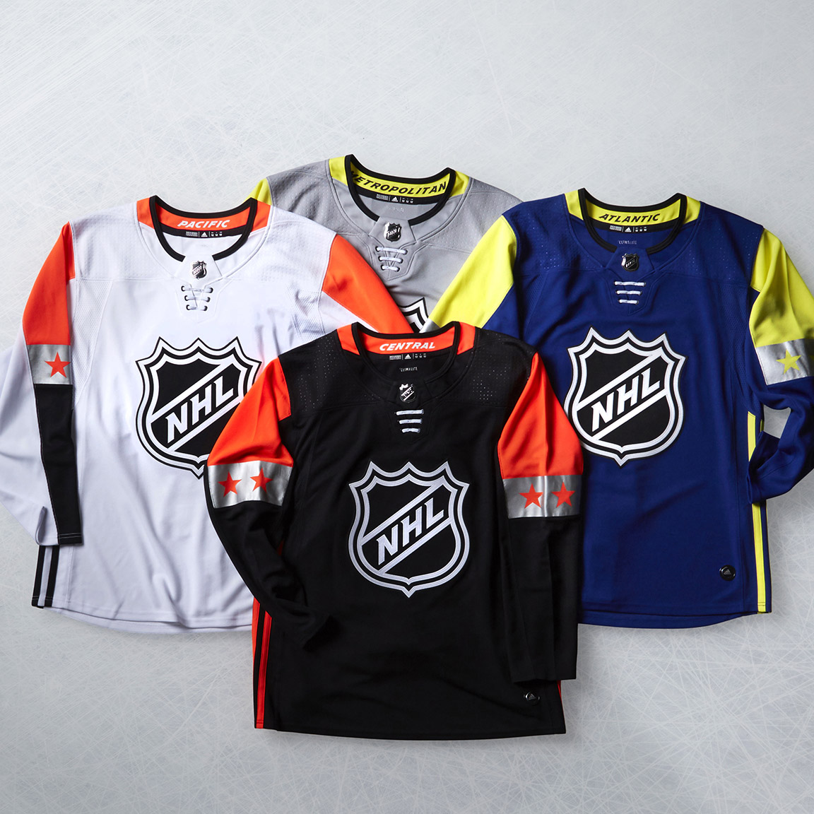 2018 NHL All-Star Game Uniforms Unveiled  82b93fd9f7b