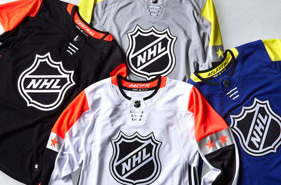 The National Hockey League and adidas today unveiled the four uniforms to  be worn at the upcoming 2018 NHL All-Star Game(s). The annual showcase of  the ... 562e08306