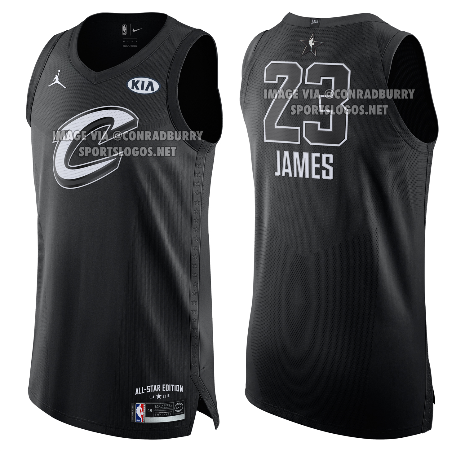 Photos of 2018 NBA All-Star Game Uniforms Leaked  5fb30fc47