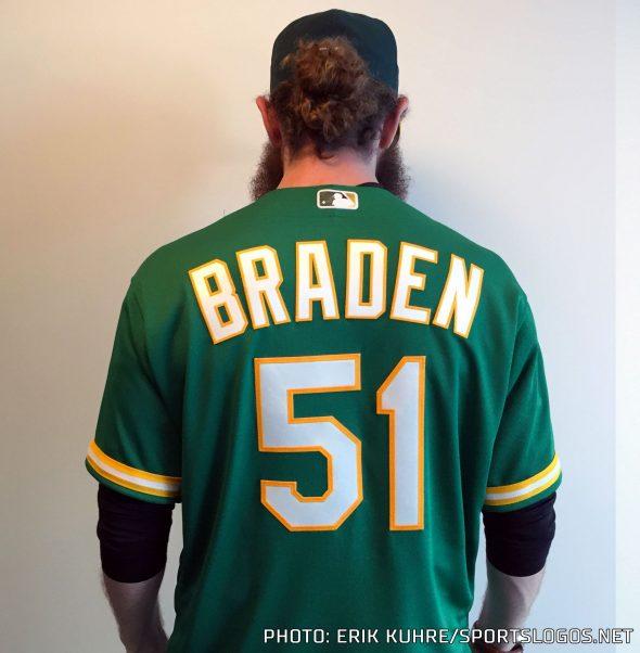 hot sales 8076a 47ae8 Oakland Athletics Unveil New Kelly Green Uniform | Chris ...