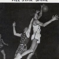 Program cover from the first NBA All-Star Game, 1951