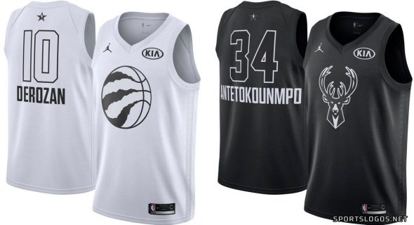 2018 NBA All-Star Game Uniforms