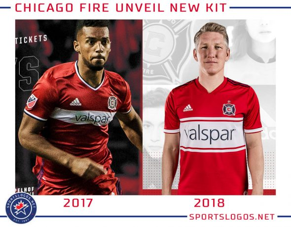 official photos 15ec6 d27ff Chicago Fire Release New Kit for 2018 Season | Chris ...