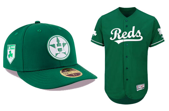 fd7a6e5fae3 The MLB design is templated. Every team except the Giants who like to do  their own thing are wearing the same shade of green