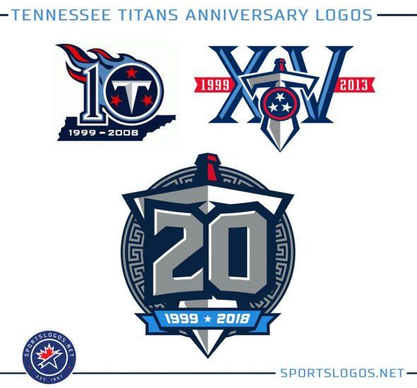 1ea8ce111c87 Tennessee Titans Unveil 20th Season Logo