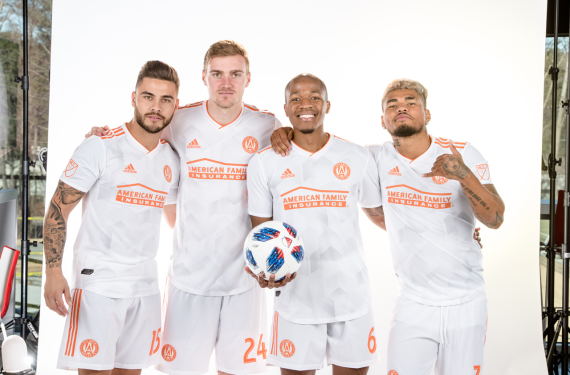 c19612f51ac Atlanta United reveals King Peach clash kit for 2018 season