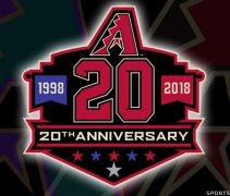 29e306bea D-backs Reveal 20th Anniversary Logo and Six Throwback Uniforms