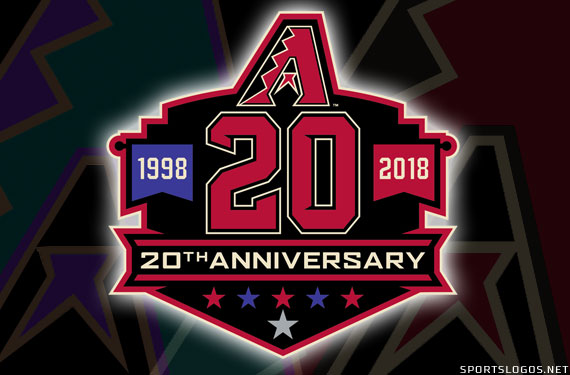 info for b7f76 2186c D-backs Reveal 20th Anniversary Logo and Six Throwback ...