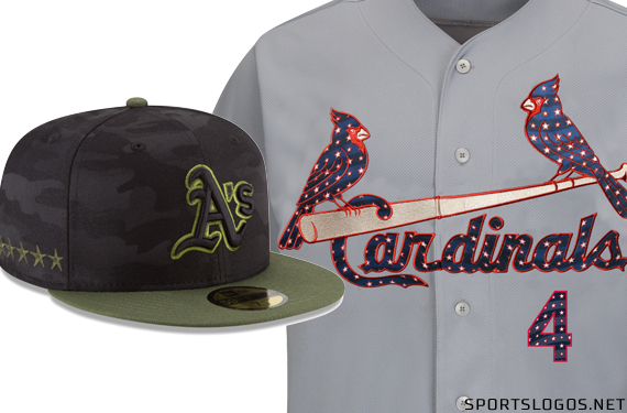 6d82552372dc2 Major League Baseball this afternoon released the 120 cap and 67 jersey  designs which will be worn during holiday weekends throughout the upcoming  2018 ...