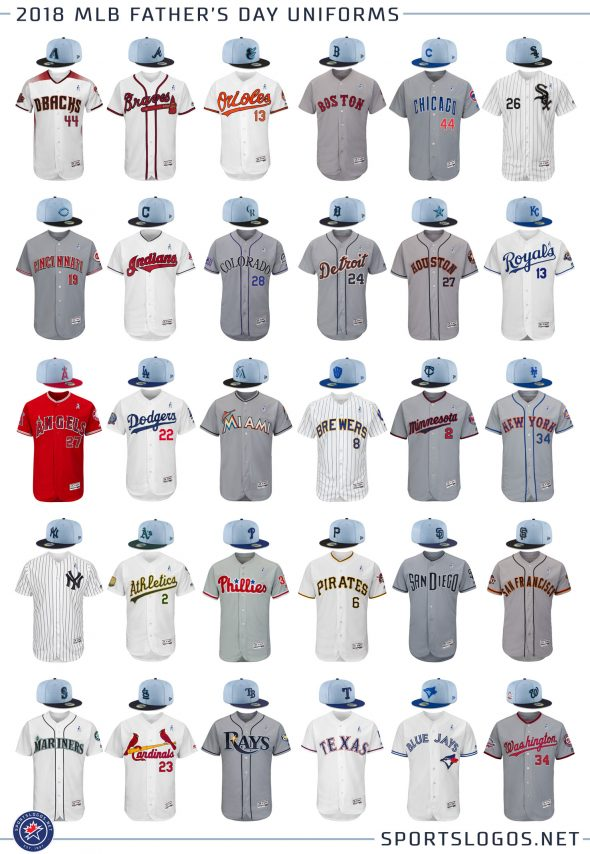 Mlb Unveils 2018 Holiday Caps And Jerseys Chris Creamer