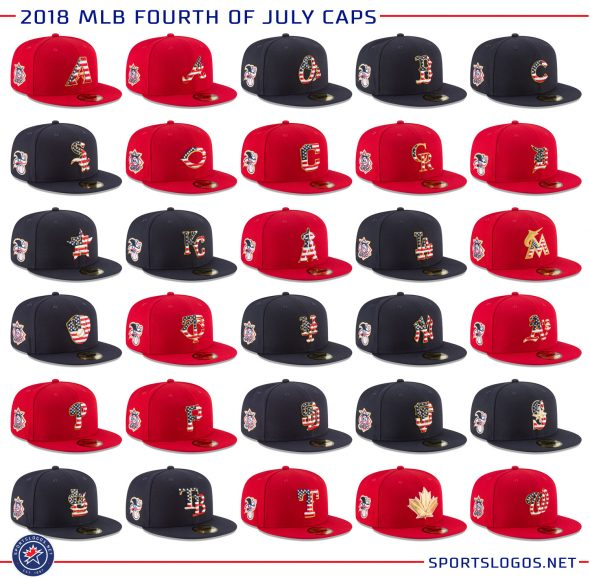 MLB Unveils 2018 Holiday Caps and Jerseys  b1a58f125
