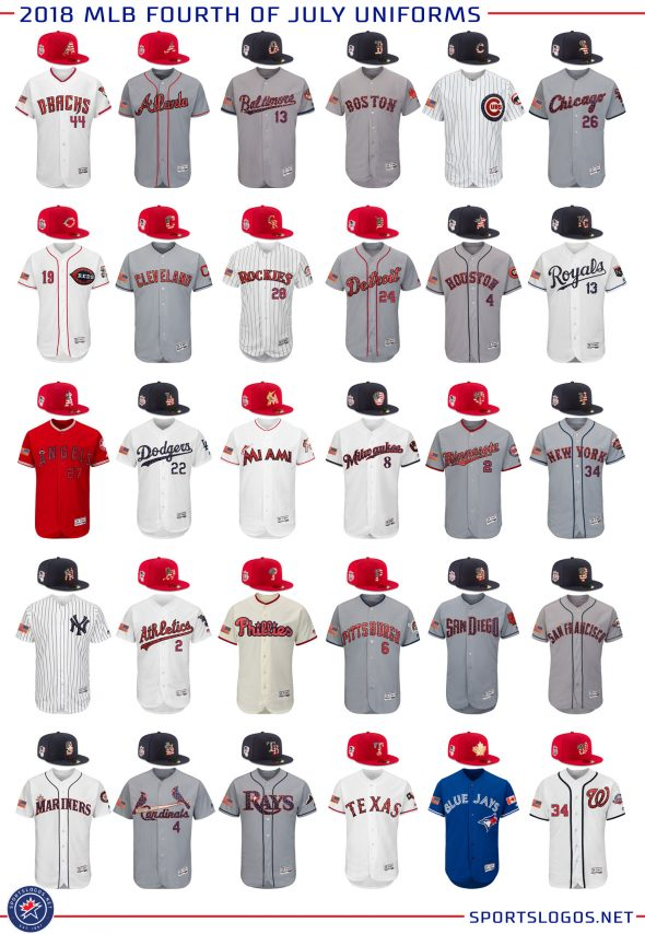 ed69f1189ec MLB Unveils 2018 Holiday Caps and Jerseys