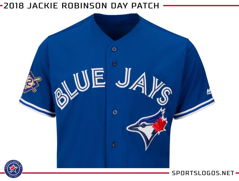 a5178b077 2018 MLB Jackie Robinson Day Jersey Patch
