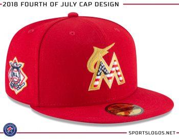 4ad820b7da9 All thirty MLB teams will wear patriotic themed caps