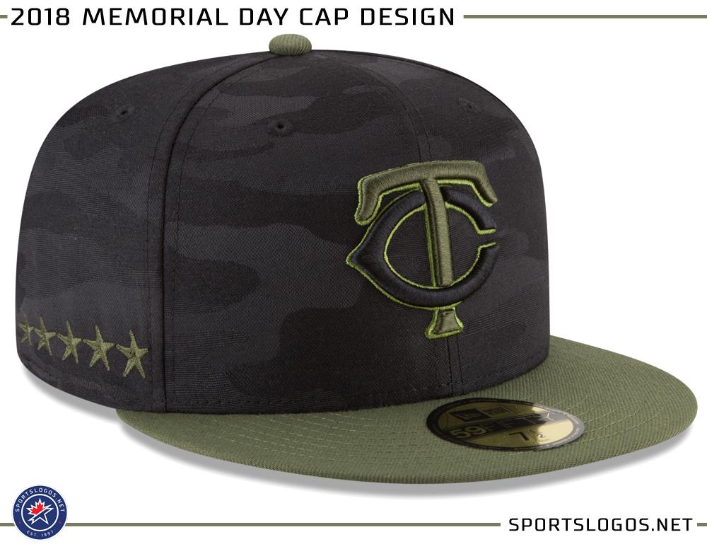 2018 MLB New Era Memorial Day Cap Design Minnesota Twins  c93ab0af2