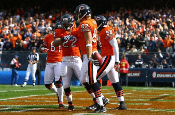 separation shoes bd30c 8d45a Chicago Bears will wear orange alternate jerseys in 2018 ...