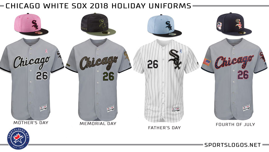 c1c6dd34c33 Chicago White Sox 2018 Holiday Uniforms