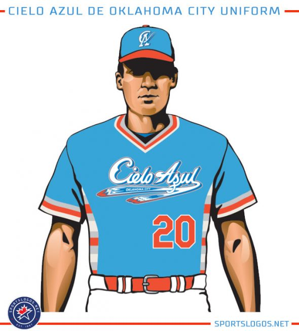 Cielo-Azul-Oklahoma-City-Dodgers-Uniform