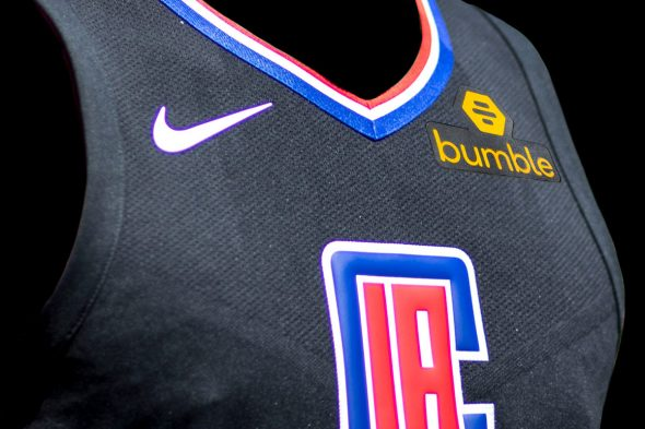 check out a2bb5 9590a LA Clippers Add 'Empowerment Badge' to Uniform   Chris ...