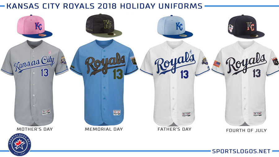Kansas City Royals 2018 Holiday Uniforms Chris Creamer S
