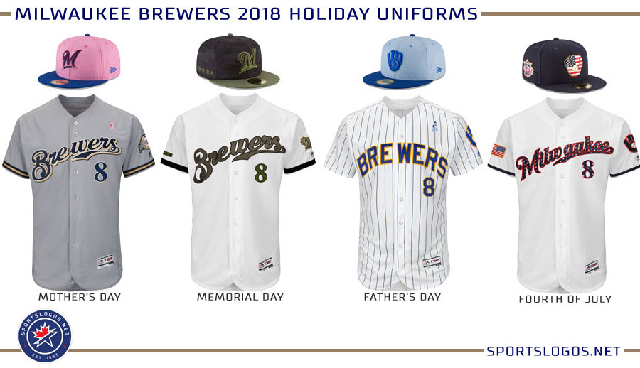 quality design 2c950 e329d Milwaukee Brewers 2018 Holiday Uniforms | Chris Creamer's ...