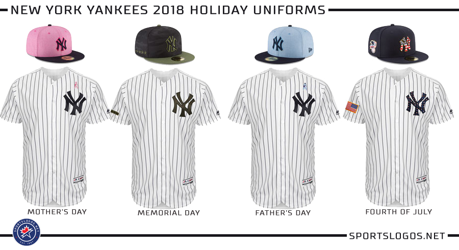New York Yankees 2018 Holiday Uniforms  c07f7ae96ee3