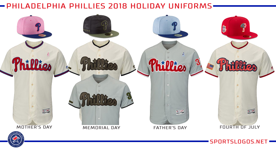 Philadelphia Phillies 2018 Holiday Uniforms  c92cd5ca010