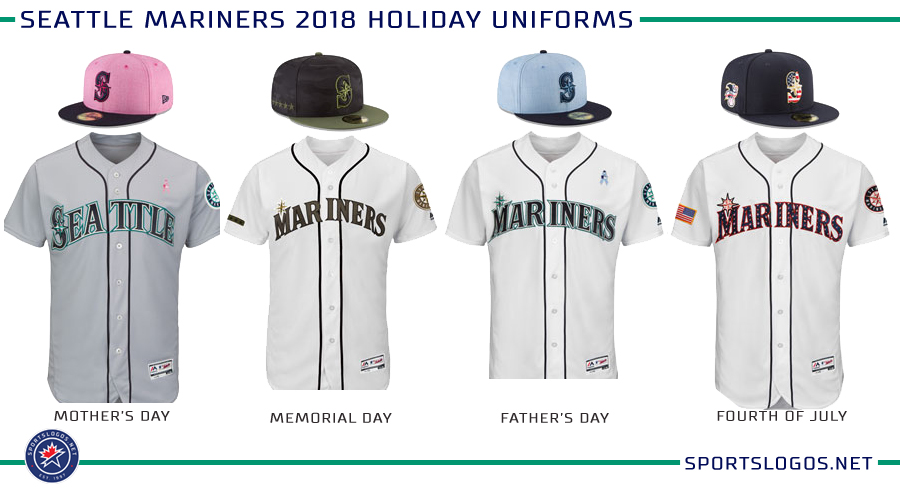 the best attitude 6655f f2e09 Seattle Mariners 2018 Holiday Uniforms   Chris Creamer's ...