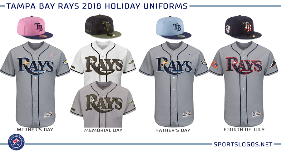 quality design 7d526 dcebb Tampa Bay Rays 2018 Holiday Uniforms | Chris Creamer's ...