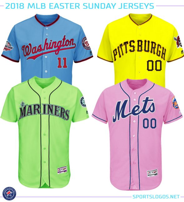 MLB Teams Wearing Easter Pastel Colours Today  87275d181