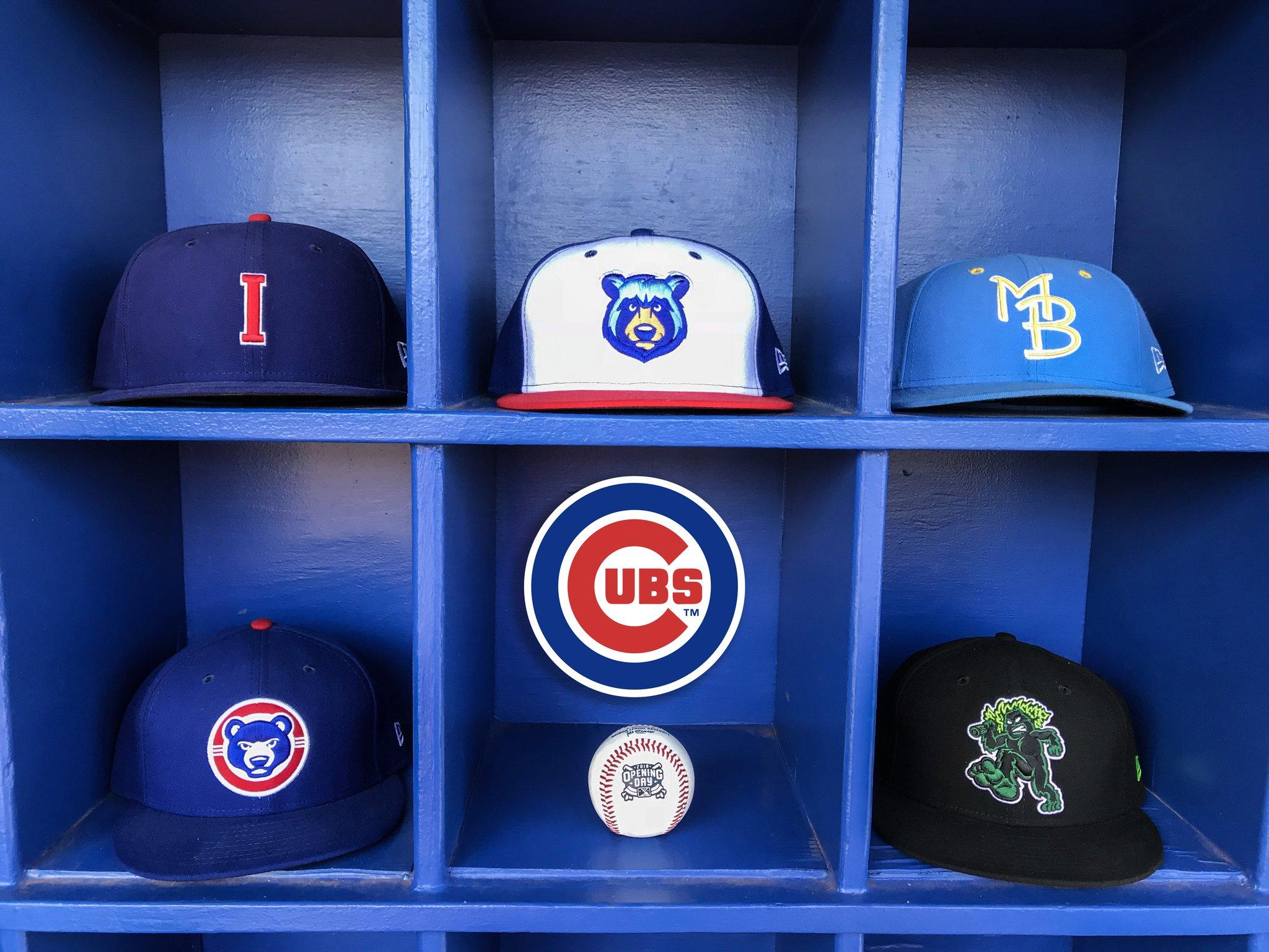 official photos dd978 a657e Chicago Cubs Affiliates 2018 | Chris Creamer's SportsLogos ...