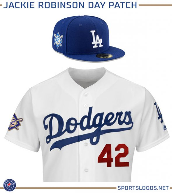 9e9be16b9 Starting in 2018 all ballplayers will also wear a special Jackie Robinson  patch on the side of their cap as well as on their jersey sleeve.