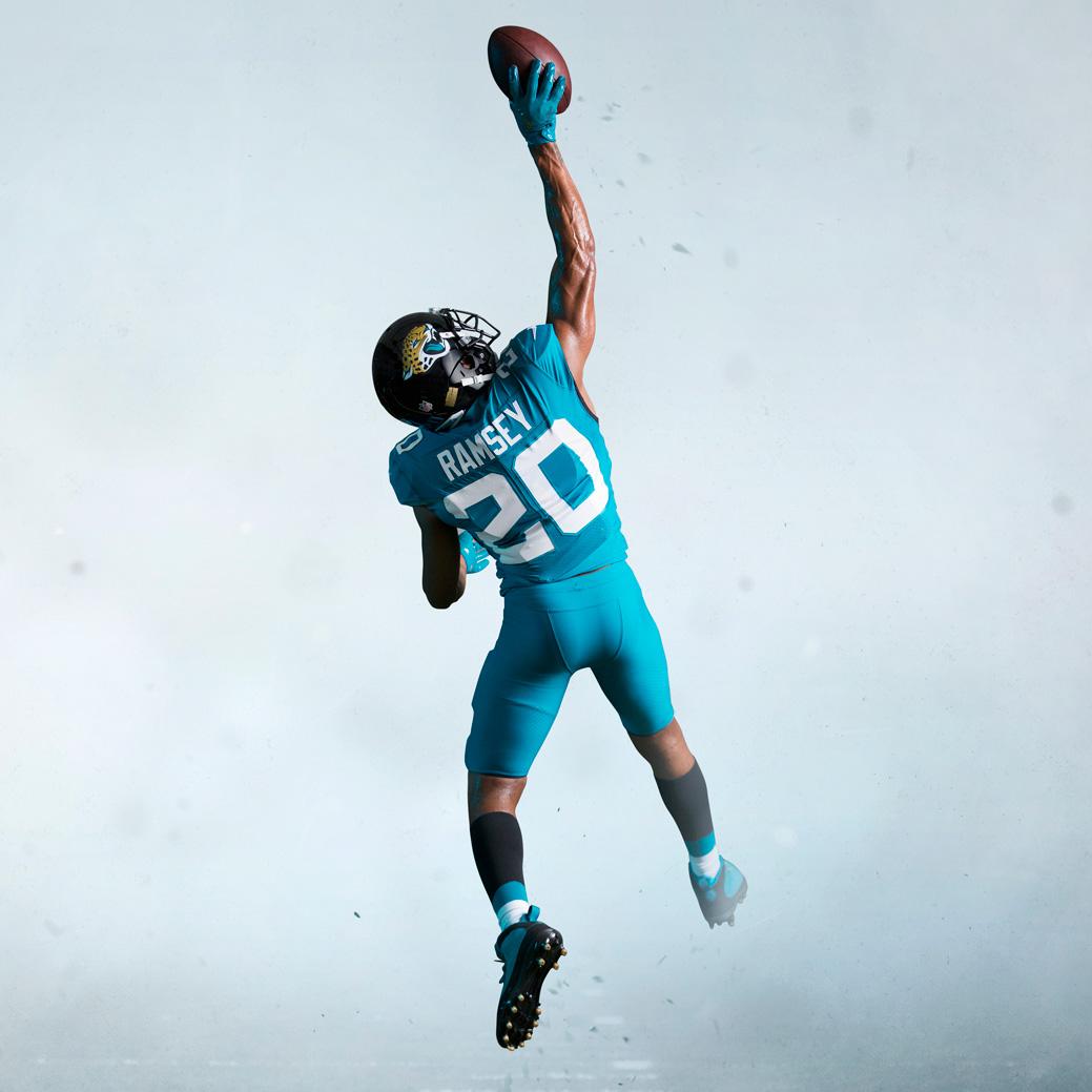 Jaguars Back of Jersey Teal | Chris Creamer's SportsLogos ...