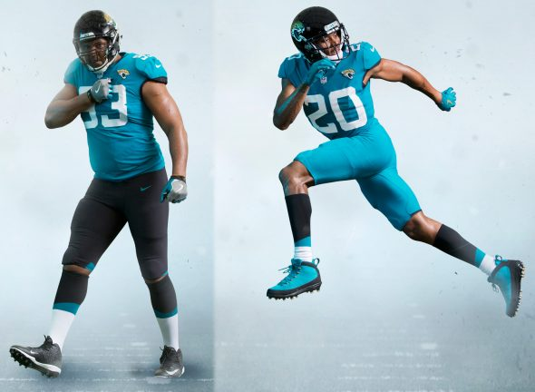 reputable site e09b0 58770 Jacksonville Jaguars Unveil Stripped-Down Uniforms | Chris ...