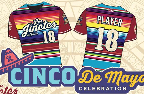 15684265cc9 Frisco RoughRiders to play as Los Jinetes on Cinco de Mayo