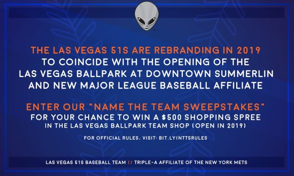 Aviators Appears to be New Name for Las Vegas 51s | Chris
