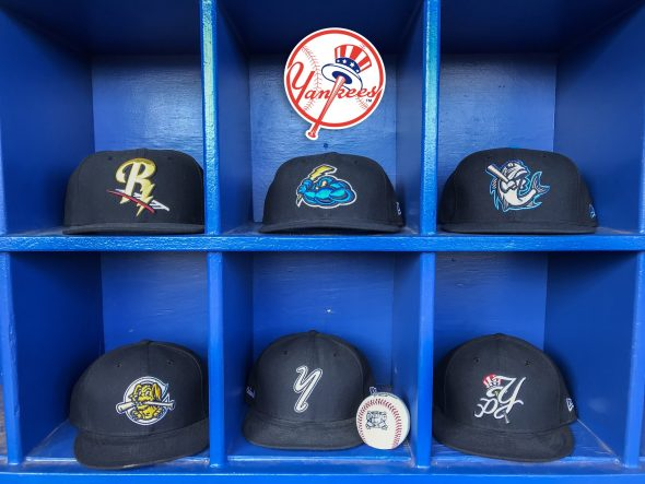 2018 Minor League Baseball Affiliate Cap Collections