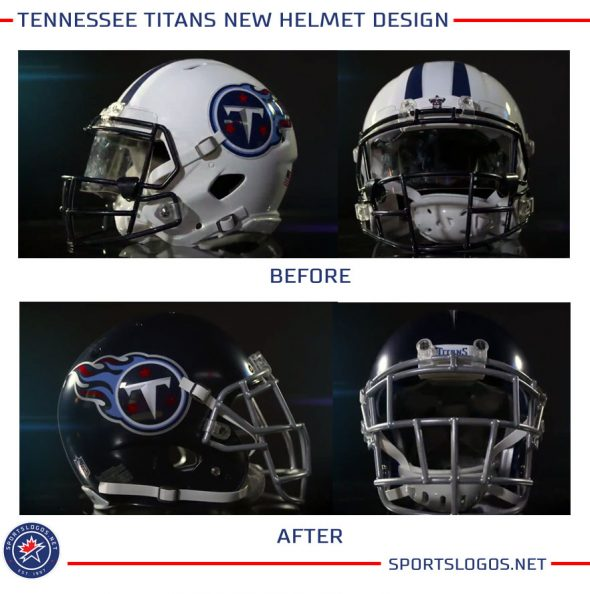 wholesale dealer 1c239 98b2d Tradition Evolved: Tennessee Titans Unveil New Uniforms ...