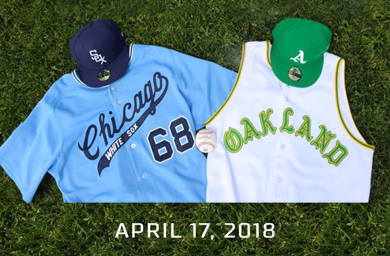 new arrival a6b5e f7c5a Athletics, White Sox Throwing It Back 50 Years | Chris ...
