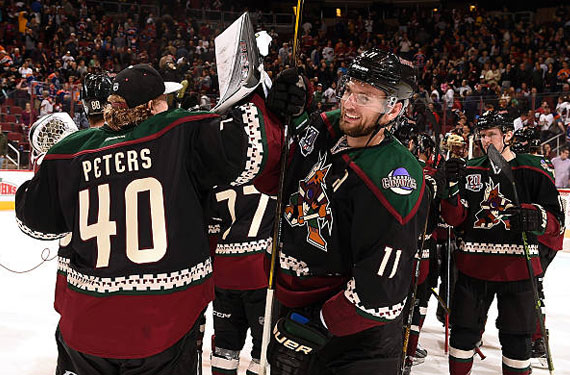 The Arizona Coyotes are the first NHL club to announce they will be  introducing an alternate uniform for the 2018-19 season. 94e5e8d80