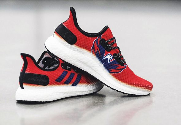 6159d0031797 Adidas unveiled their new Speedfactory AM4NHL (Adidas Made For NHL) shoe  immediately after the Washington Capitals lifted Lord Stanley s 34-pound  mug over ...