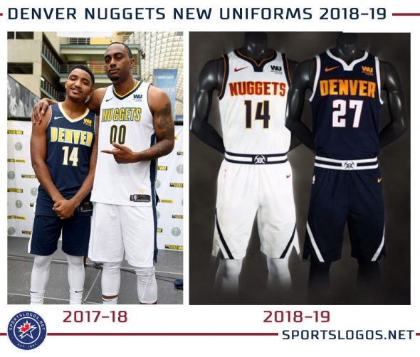 Nuggets Evolved: Unveil New Logos, Colours, Uniforms