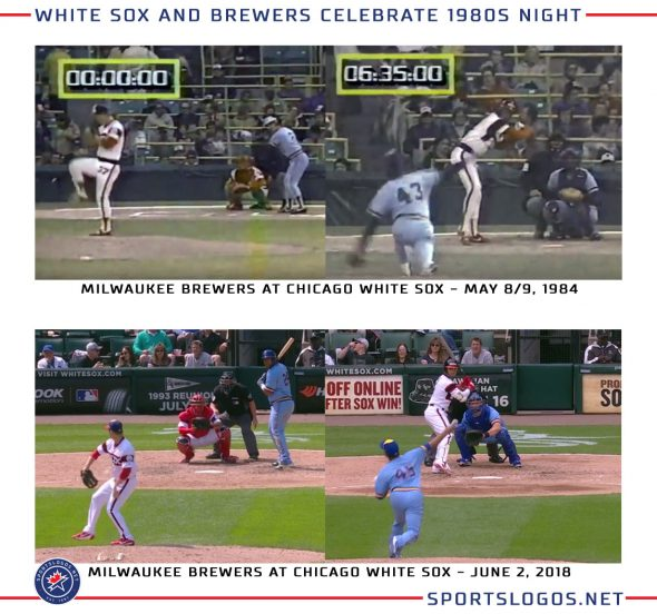 pretty nice d6e33 33d16 Photos: White Sox and Brewers Throw Back to 1983 | Chris ...