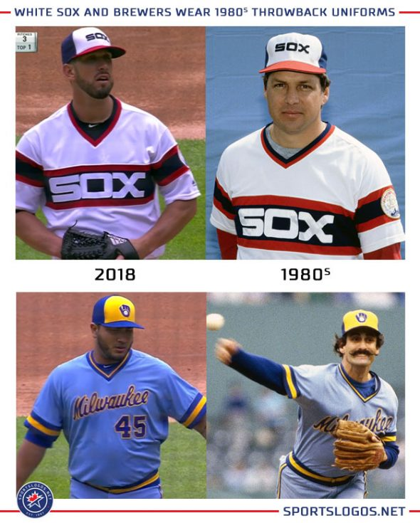 pretty nice 7278f a740f Photos: White Sox and Brewers Throw Back to 1983 | Chris ...