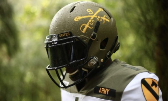 Army Black Knights Unveil 1st Cavalry Division Uniforms For