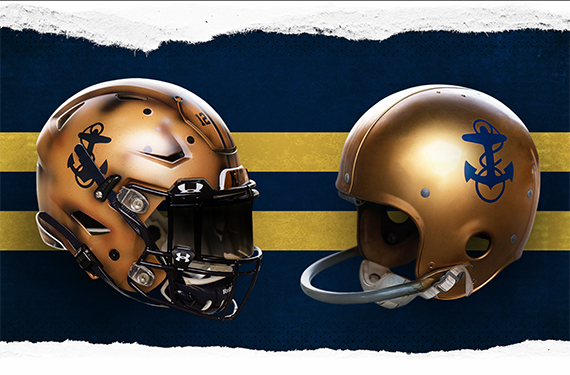 Navy Midshipmen Reveal 1960s Throwback Uniform For Army Game