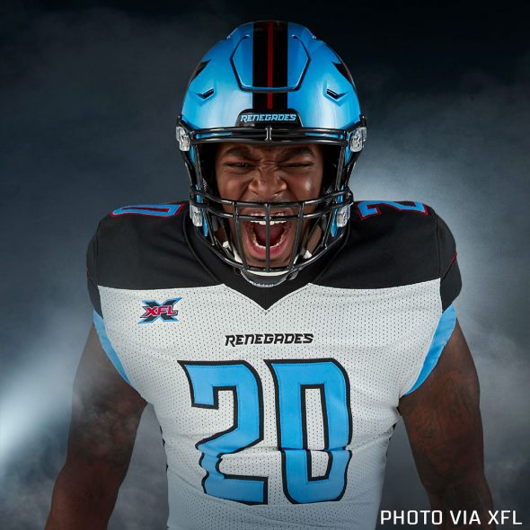 Xfl Unveils Team Uniforms For 2020 Chris Creamer S
